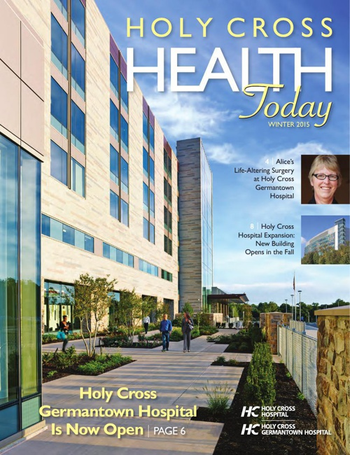 Holy Cross Health Today Winter 2014