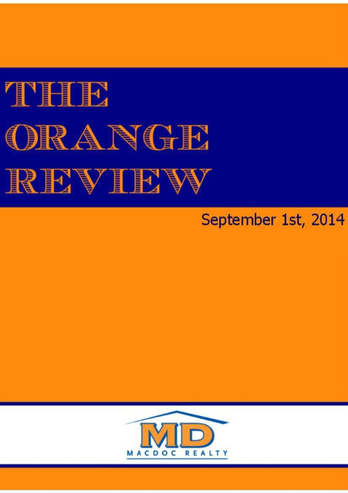 September Orange Review