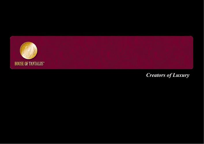 Creators of Luxury