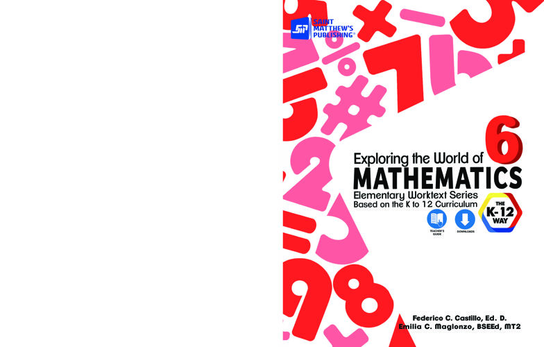 Exploring the World of Mathematics 6