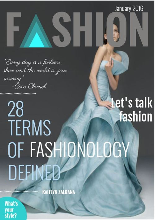 Fashionology Book 1