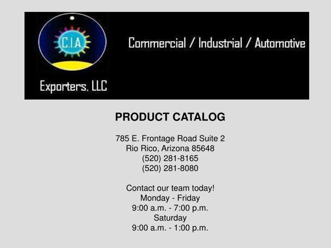 Product Catalog2