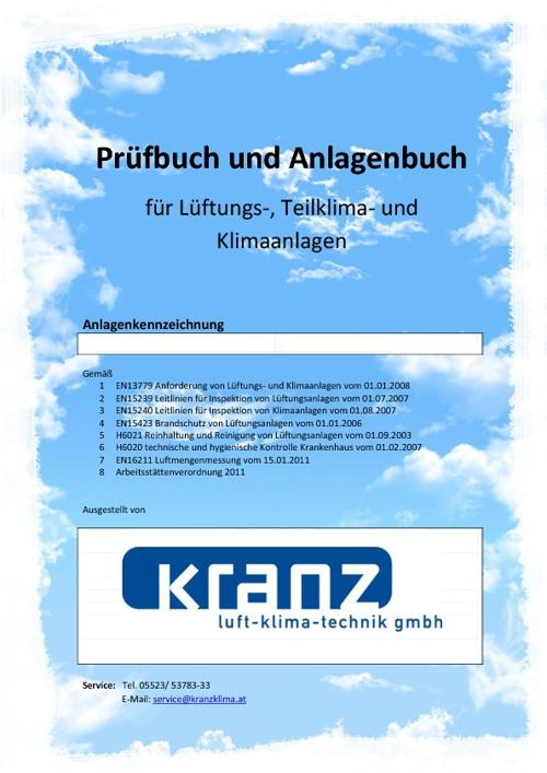 Prüfbuch Kranz