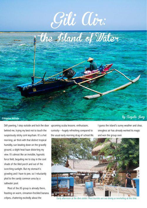 Gili Air Travel Article