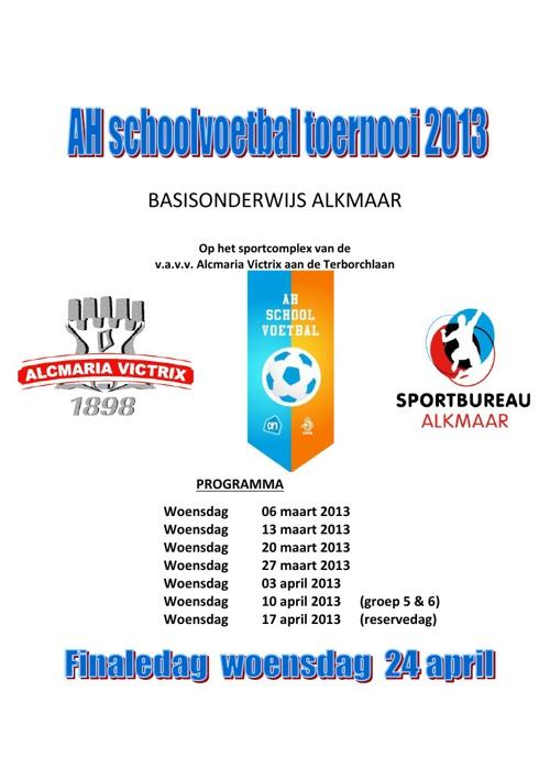AH schoolvoetbal toernooi 2013