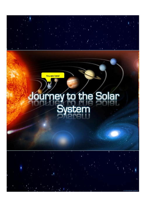 Journey to the Solar System