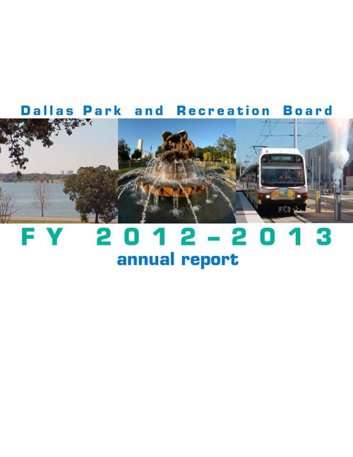 2012-13 DPARD Board Annual Report