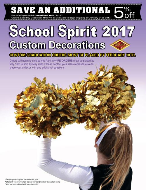 SCHOOL SPIRIT 2017
