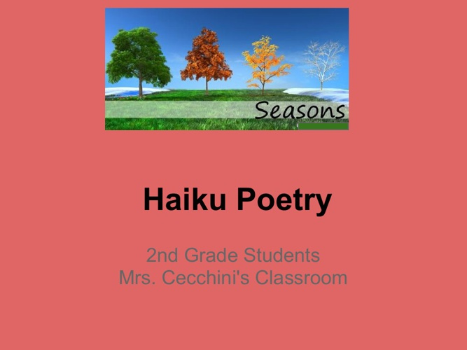 Haiku Flipbook