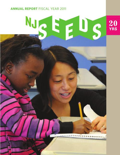 New Jersey SEEDS' 2011 Annual Report