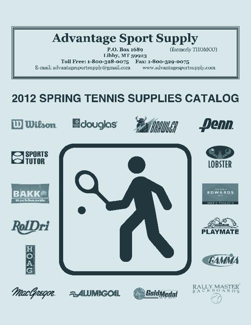 Tennis 2012 Catalog