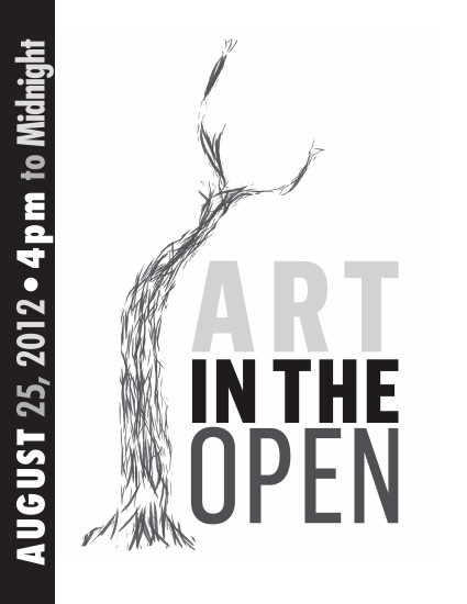 Art in the Open 2012 - Festival Catalogue