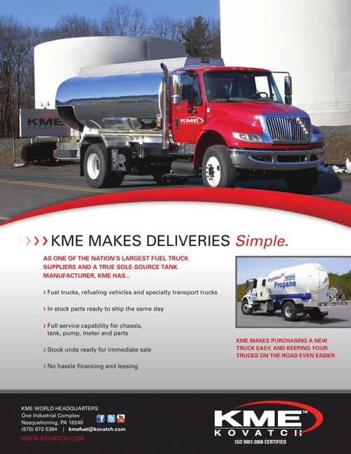 KME Fuel Truck Lit Update