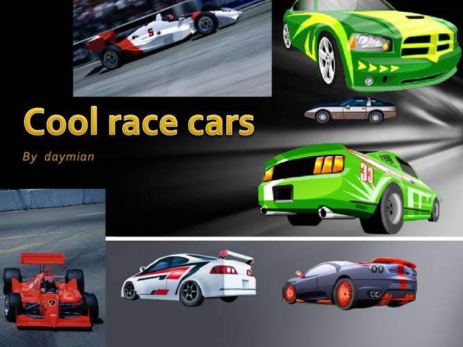 Cool Race Cars
