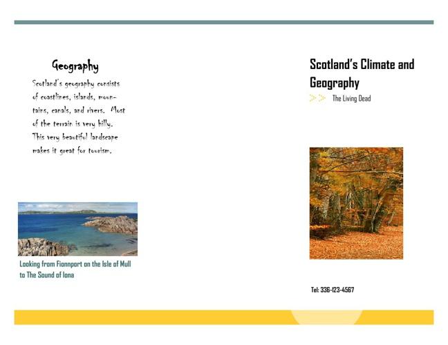 Scotland's Geography