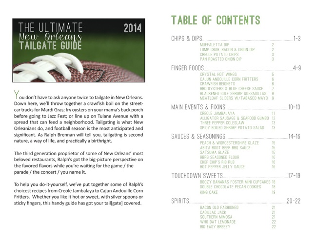 Ralph Brennan's Ultimate Guide to Tailgating