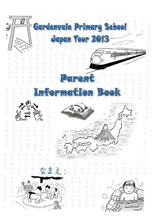 Parent Info book