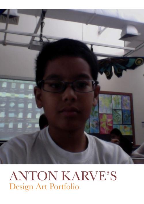 Grade 6 Design Portfolio