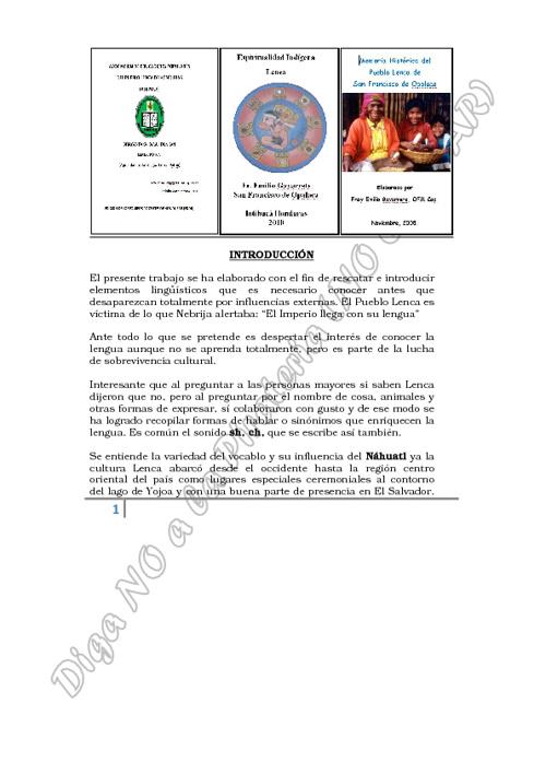PUBLICACIONES CPMHONDURAS (Adolfo Manzanares)