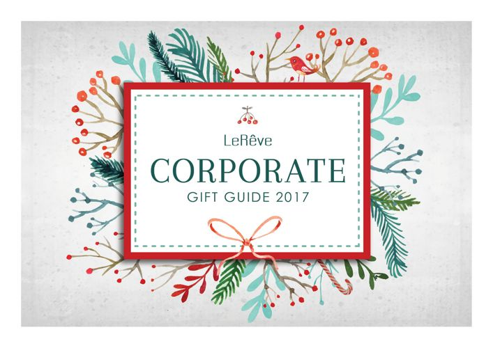 LeReve Corporate Gift Guide (New Zealand)