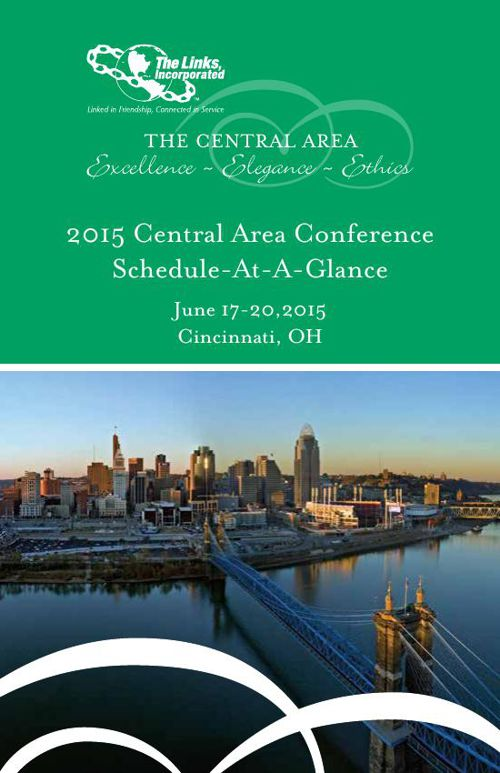2015 Central Area Conference of The Links, Incorporated Schedule