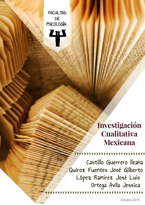 Investigacion Cualitativa Mexicana
