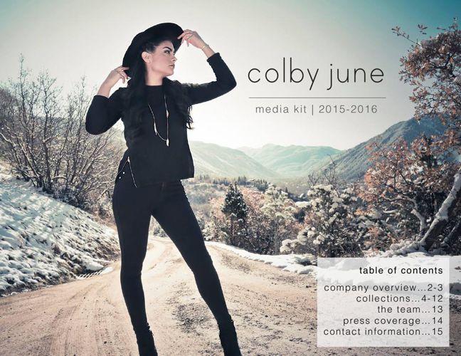 ColbyJune_MediaKit_2015-2016