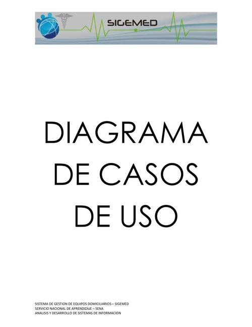 DIAGRAMA DE CASOS DE USO(Documentacion)
