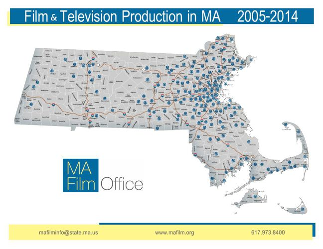 Massachusetts Film Office Filmography 2005-2014
