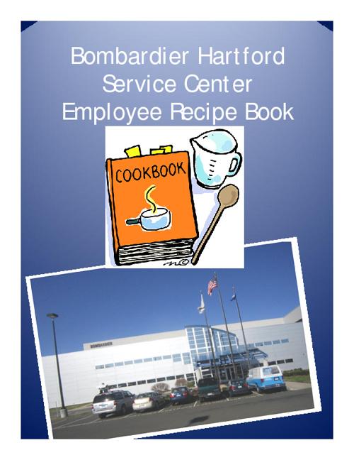 HSC Employee Recipe Book