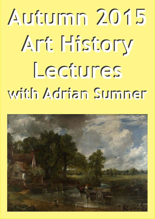 Art Lectures Autumn 2015