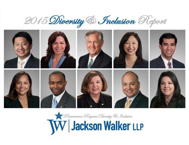 2015 Jackson Walker Diversity Report