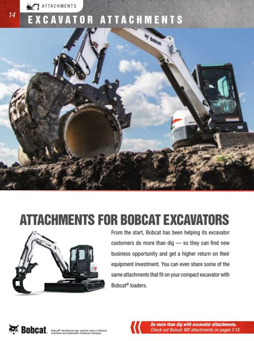 Bobcat Attachment Catalog Part 2