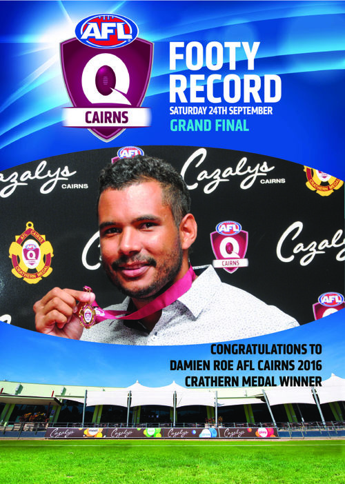AFL Cairns 2016 Grand Final Footy Record