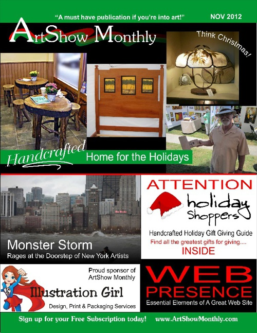ArtShow Monthly - November 2012