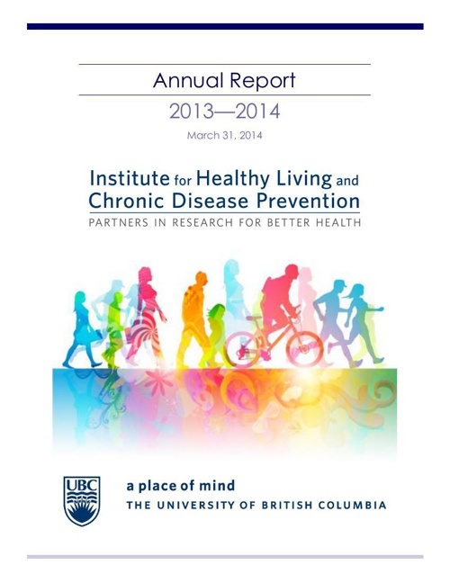 2013 - 2014 IHLCDP Annual Report