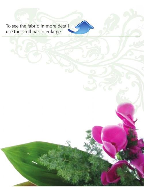 Lotusvive Fabric Options - setting the new standard