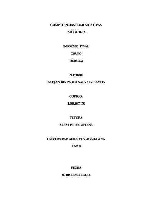 actividad final de compatencias ALEJANDRA NARVAEZ