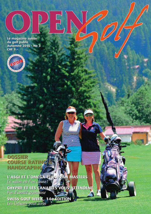 Open Golf - Automne 2015