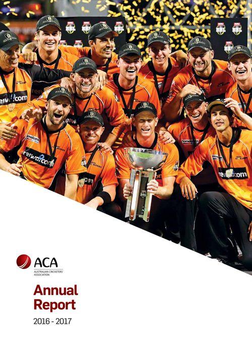 ACA Annual Report 2016 - 2017