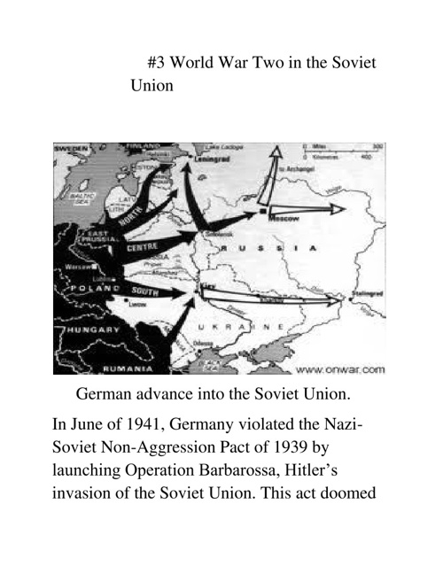 World War 2 in the Soviet Union