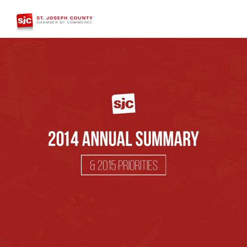 SJC Chamber 2014 Annual Summary & 2015 Priorities