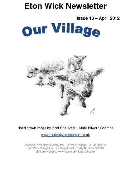 Village newsletter April 2012