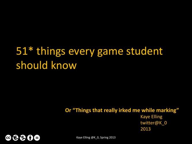 Student Advice