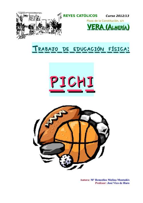 Educación Física (Pichi