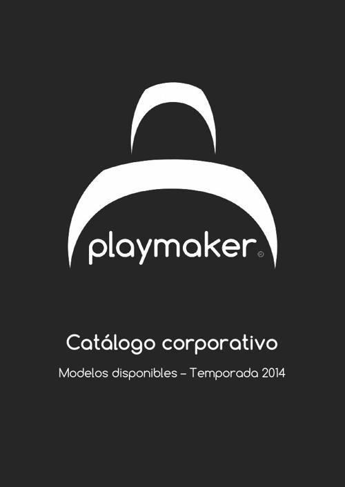 Catálogo corporativo - Playmaker temporada 2014