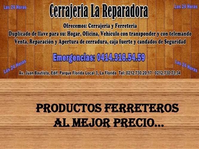 FERRETERIA REPARADORA