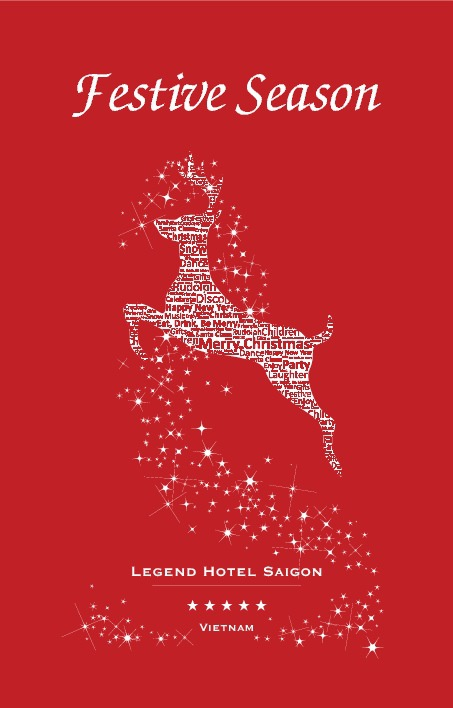 Brochure Festive Season from Legend Hotel Saigon