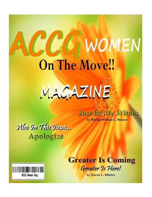 Accg Women on the Move! Magazine