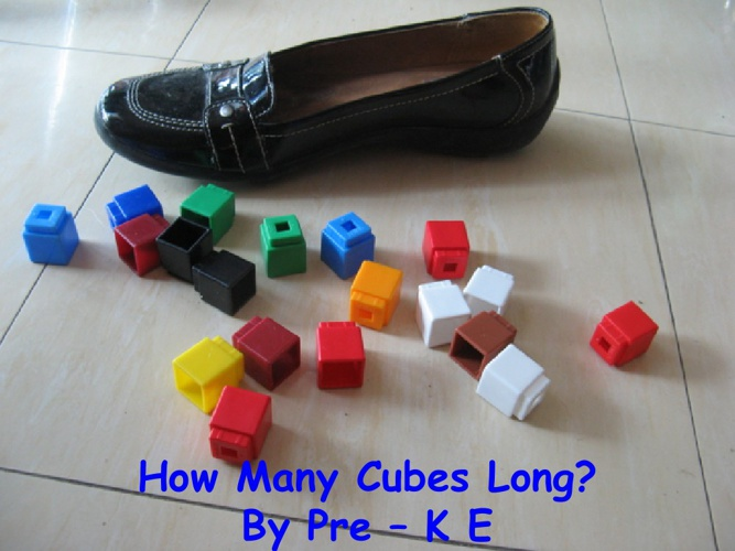 How Many Cubes Long?